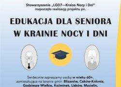 Serdecznie zapraszamy osoby w wieku 60+, z terenu Gminy Koźminek, do udziału w projekcie obejmującym szereg atrakcyjnych działań o różnorodnej tematyce
